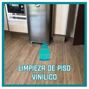 Limpieza de piso de vinilo