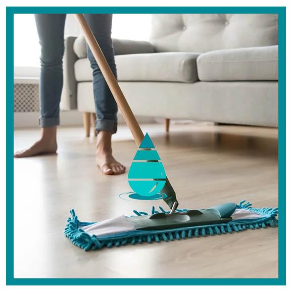 Correcta limpieza de piso de vinilo