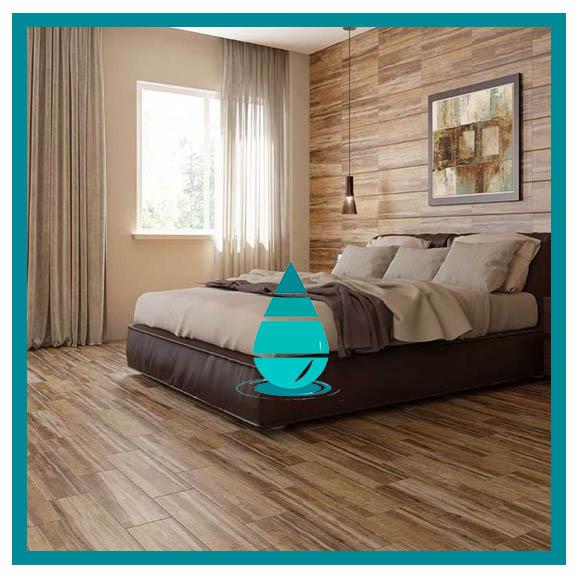 Limpieza de piso vinilo dormitorio
