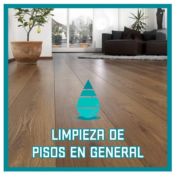 Limpieza de pisos en general