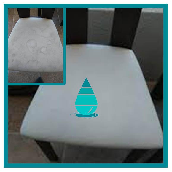 Limpieza de juego de sillas