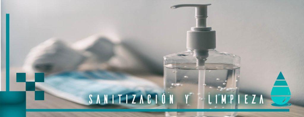Limpieza y sanitización